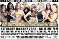 Press Release: Atomic Arise - Women's Matches